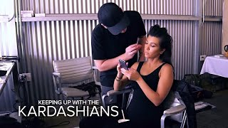 KUWTK | Kourtney Kardashian Is Pissed Over Blac Chyna's Slap Emoji | E!