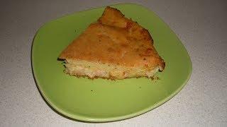 Великолепный пирог с ветчиной и сыром на кефире
