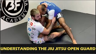 Zapętlaj Understanding The Jiu Jitsu Open Guard by Gordon Ryan | Bernardo Faria BJJ