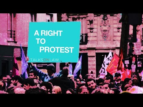 What are your rights to PROTEST in public?