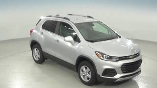 182258 - New, 2018, Chevrolet Trax, 1LT, AWD, Silver, SUV, Test Drive, Review, For Sale -