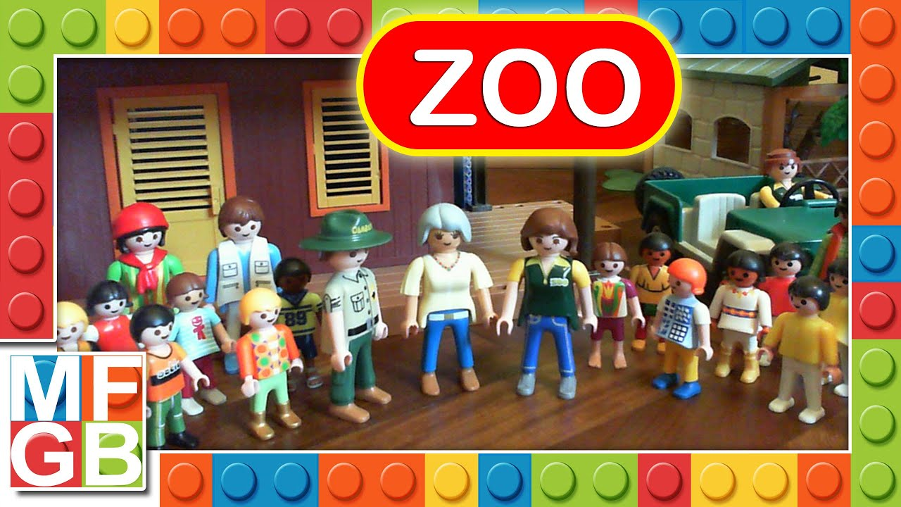 playmobil zoo park safari film 100 animals city gran. Black Bedroom Furniture Sets. Home Design Ideas