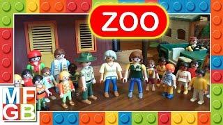 Playmobil Zoo Park Safari Film - 100 Animals - City Gran Zoo - City Life - Mini Zoo - 6634 6635 4850