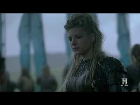 Vikings S05E08 - Ivar And Lagertha Armies Discuss For Peace (PART 2)