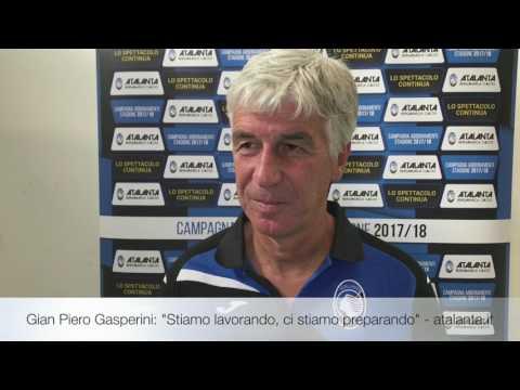 """Gian Piero Gasperini: """"Stiamo lavorando, ci stiamo preparando"""""""