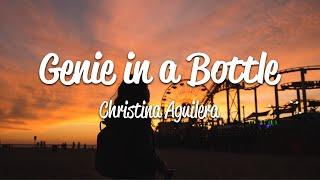 Christina Aguilera - Genie In A Bottle (Lyrics)