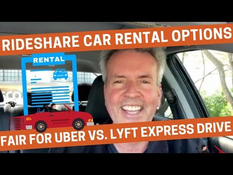 Lyft Express Drive Review 2020.Rideshare Car Rental Options Fair For Uber Vs Lyft Express