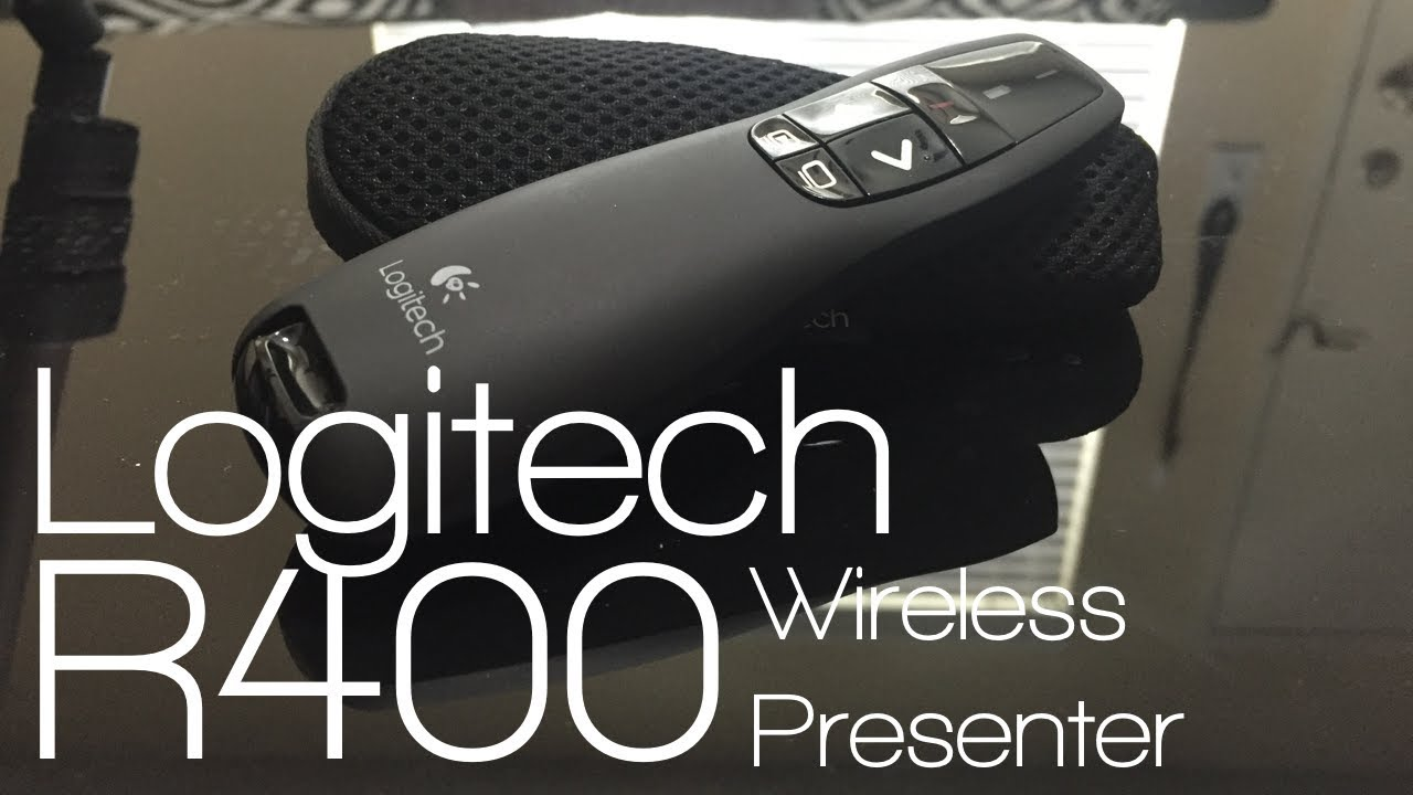 Logitech R400 Wireless Presenter Review Youtube Pointer