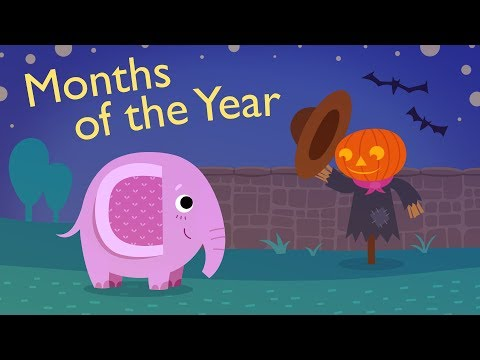 Months of The Year for Kids   Learn 12 Months of the Year   Kids Academy