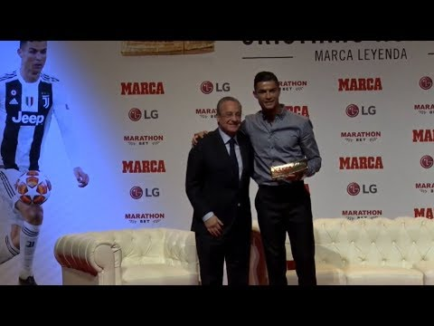 Cristiano Ronaldo - MARCA Legend 2019 [FULL CEREMONY]