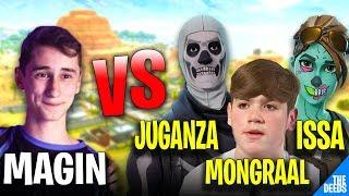 Atantis Magin VS Secret Mongraal, Ghost Issa & Atlantis Juganza   Fortnite Playground