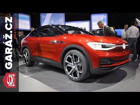 VW I.D. Crozz, I.D. Buzz, Polo GTI, Up! GTI - Frankfurt 2017 živě