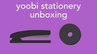 yoobi stationery unboxing [+ swatches and demos]