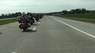 Bikers For Babies, St. Louis (Oct. 2009)