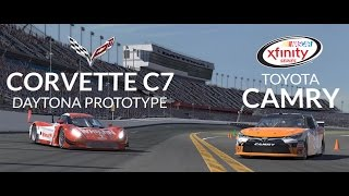 out now the corvette c7 dp nascar xfinity toyota camry