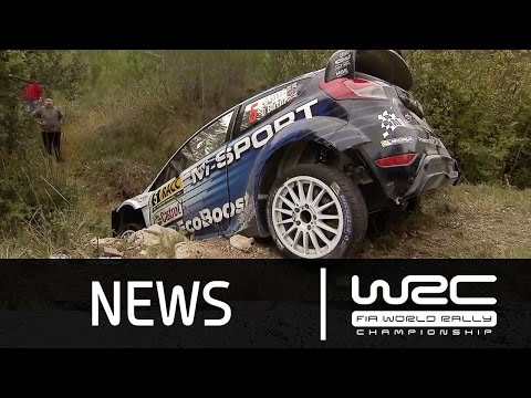 WRC Highlights - RallyRACC - Rally De España 2015: Stages 14-17