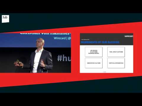 From Bavaria to the World - FinTechs | Christian von Hammel-Bonten | hub conference 2016