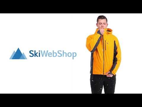 Spyder, Orbiter GTX, Ski Jacket, Men, Fla Orange