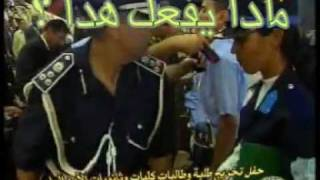عميد في الشرطة يقلد أوسمةعلي صدور الضابطات الليبيات ؟