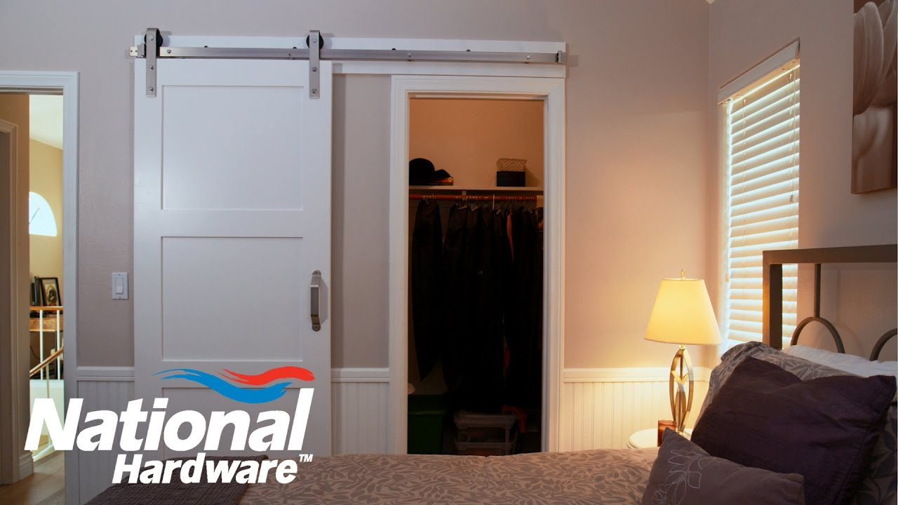 Easy Diy Project Interior Sliding Door Kit Installation National Hardware Youtube