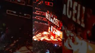 Shane McMahon vs Kevin Owens Entrances Hell in a Cell 2017