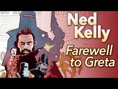 """♫ Ned Kelly: """"Farewell to Greta"""" - Sean and Dean Kiner - Extra History"""