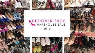 Designer Shoe Warehouse Sale! 2019