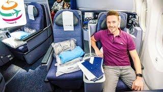 United Polaris Business Class 787-9 auf 11 Stunden Flug | GlobalTraveler.TV