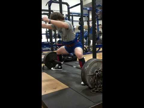 James Windham 415 Plus 45 in Chains Deadlift Triple
