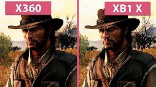 [4K] Red Dead Redemption – Xbox 360 vs. Xbox One X 4K Update Graphics Comparison