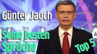 Günther Jauch: Die witzigsten Sprüche des Wer wird Millionär Moderators