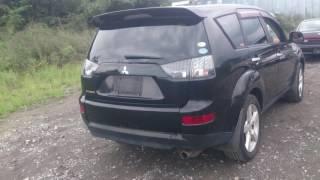 Видео-тест автомобиля Mitsubishi Outlander (CW5W-0003829), черный 2005