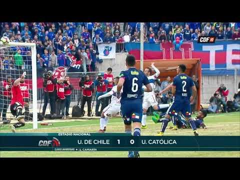 U. de Chile 1 - 0 U. Católica  | Torneo Scotiabank Transición 2017 (Apertura) Onceava Fecha | CDF