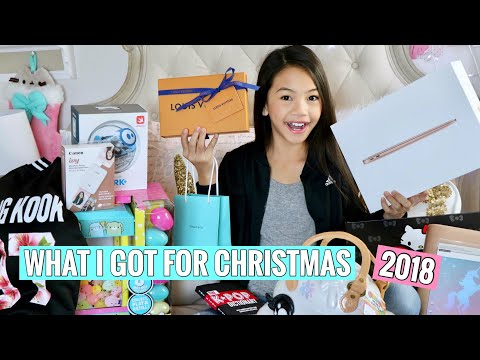 WHAT I GOT FOR CHRISTMAS! 2018