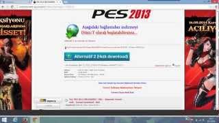 PES 2013 Torrent nasıl indirilir ? (Sesli anlatım)