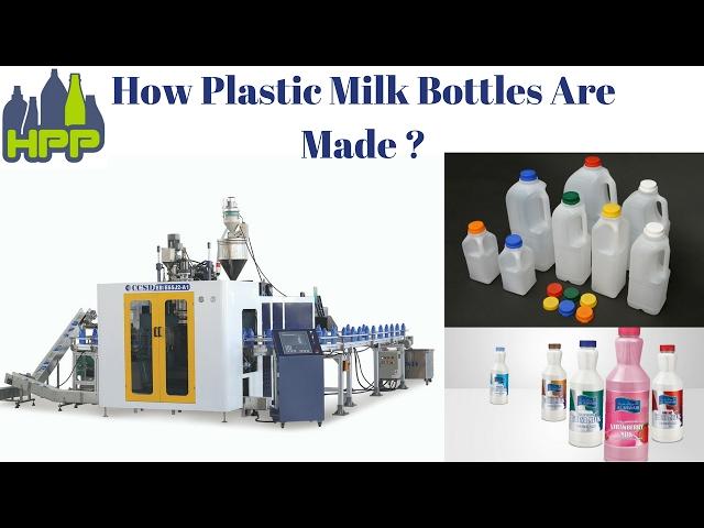 Plastic Milk Bottle  Extrusion Blow Molding  Machine