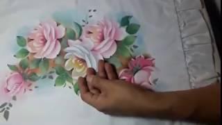 rosas, stencil, Andres Alva