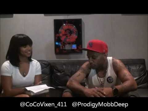 """CoCo V & Prodigy of Mobb Deep in NYC! (Interview) """"The 411""""  2011"""