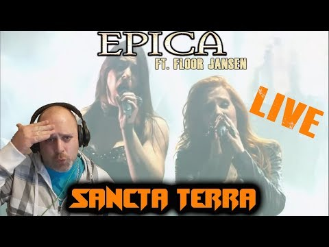 Jerkturtle Reacts://LIVE//Epica- Sancta Terra ft. Floor Jansen