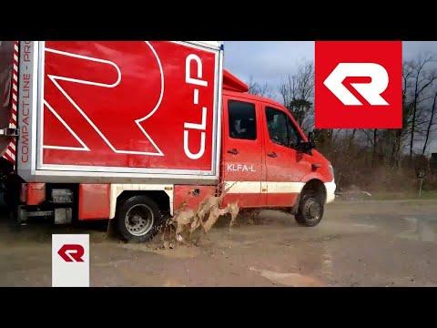 Kommunalfahrzeug im Einsatz: Der CL-P auf Testfahrt - Rosenbauer