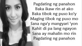 vuclip Pagdating Ng Panahon by Kathryn Bernardo [ lyrics video ]