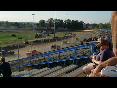Florence speedway Hornet heat race #1  7-20-19