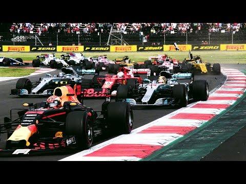 Lewis Hamilton's Dramatic Fourth Title Win | 2017 Mexican Grand Prix