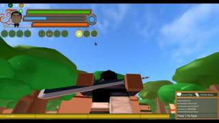 ROBLOX: Gaiden OA Alpha #1 Training and grinding