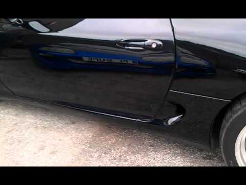 Knight Racer Carbon Doors fitted to JamieP Supra & Knight Racer Carbon Doors fitted to JamieP Supra - YouTube