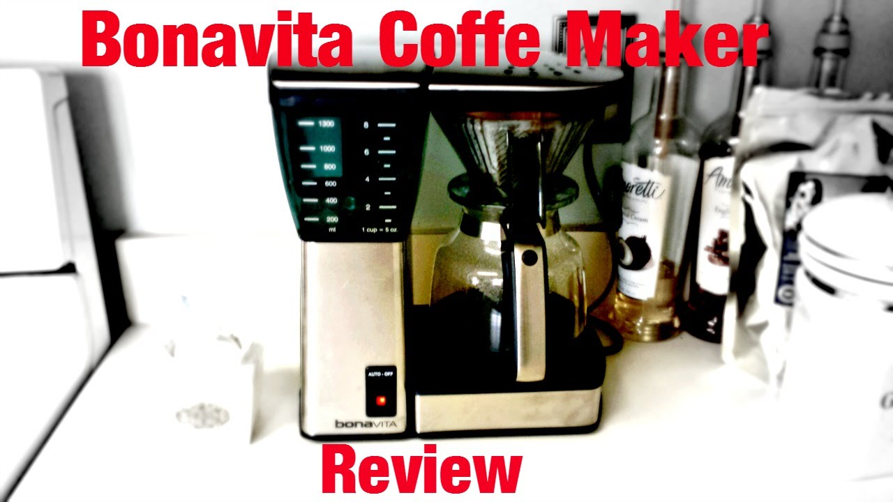 Bonavita BV1800 Coffee Maker Review - YouTube