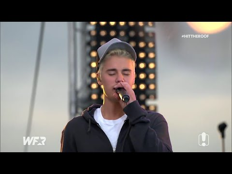 Justin Bieber - Baby (acoustic) - Live @ Fox FM's Hit the Roof.