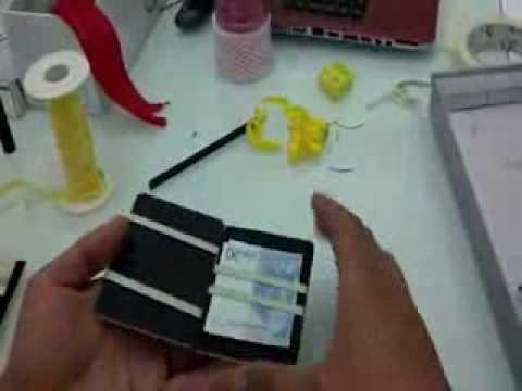 Funzionamento del portafoglio magico di legno che abbiamo for Youtube legno fai da te