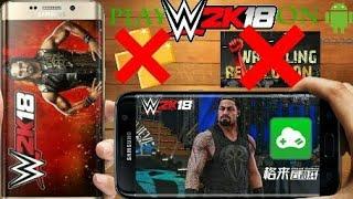 PLAY WWE2K18 NOW ON GLOUD GAMES