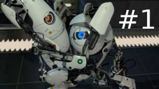 Portal 2 Co-op Walkthrough with Sp00n Part 1: Gameplay